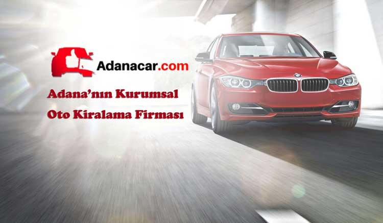 Adana'nın kurumsal oto kiralama firması