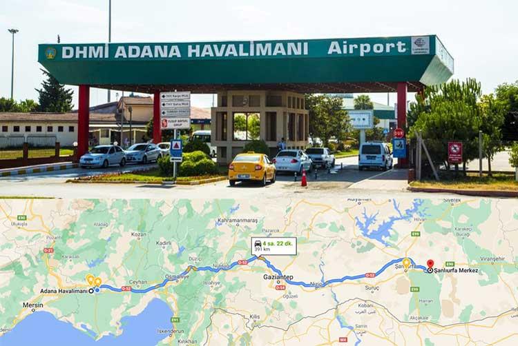 Adana Havaalanından Şanlıurfa'ya Nasıl Gidilir?