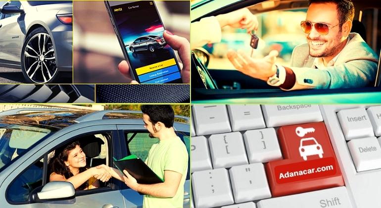 Adana'da İnternetten Araç Kiralama