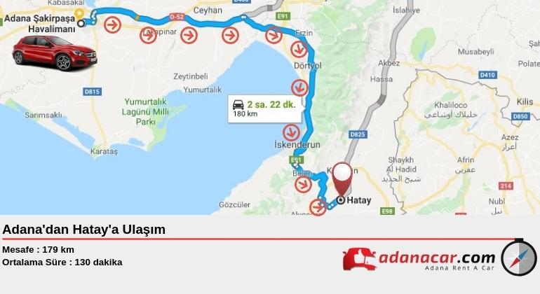 Adana'dan Hatay'a Nasıl Gidilir?