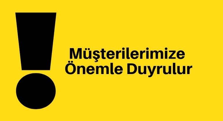 Adana Araç Kiralama İşlemleri Hakkında Önemli Duyuru