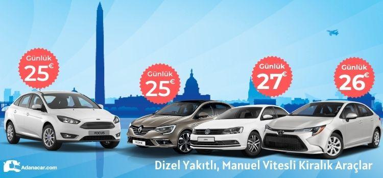 Adana oto kiralama erken rezervasyon kampanyası, Adana araç kiralama yaz kampanyası