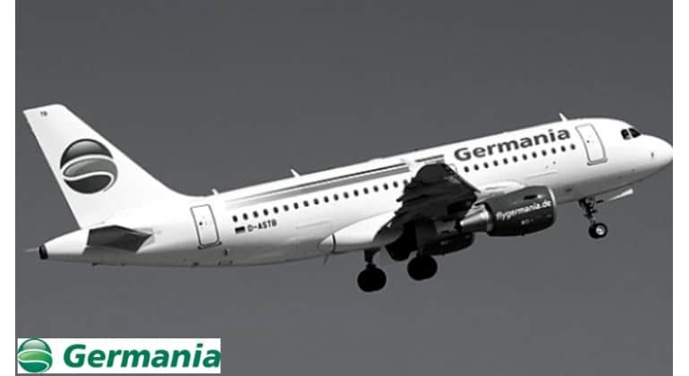 Adana'ya Tüm Germania Uçuşları İptal Edildi