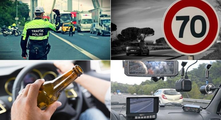 Yeni Trafik Cezaları : Trafik İhlallerine Astronomik Cezalar Devrede